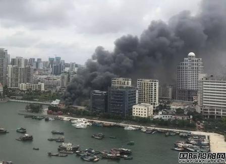 起火原因曝光!深圳海斯比船艇研发基地大火