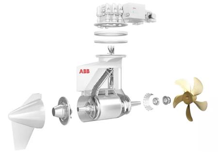 ABB扩增Azipod吊舱式全回转推进系统功率范围