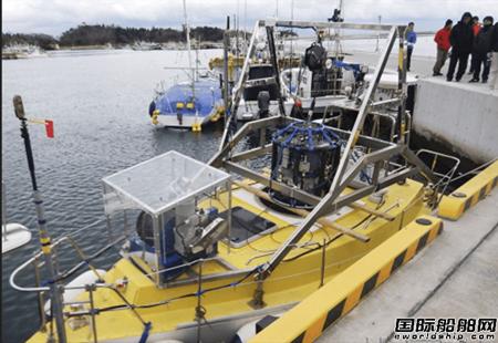 日本研发核辐射测量无人船