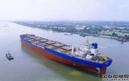扬州中远海运重工一日实现坞内三浮两出