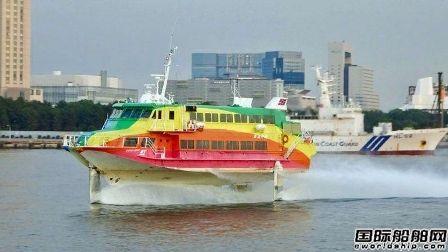 川崎重工时隔25年再造波音929超高速客船