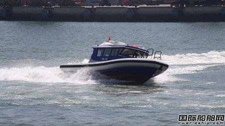 中国海事局新型高性能巡逻艇将在欧伦大连船业建造