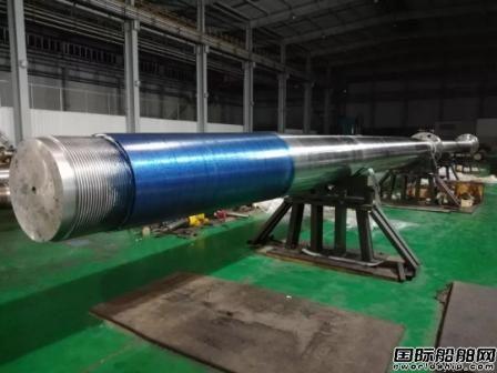 武汉重工又一套轴系产品验收发货