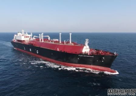 大宇造船提前三周交付Flex LNG一艘LNG船