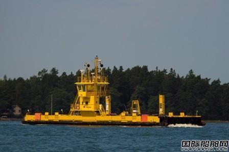 Danfoss Editron为芬兰渡船改装柴电传动系统