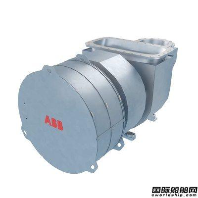 ABB推出适用于低速机全新紧凑型涡轮增压器