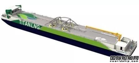 Titan LNG公司燃料加注趸船获BV入级批复