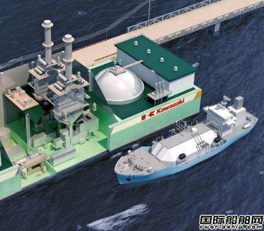 川崎重工LNG发电船设计获DNV GL原则性批准