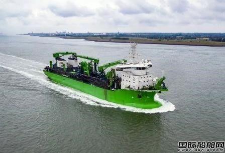DEME接收中国船厂建造新一代耙吸式挖泥船