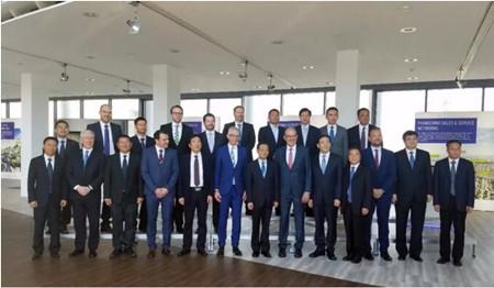 玉柴与德国MTU签署扩大战略合作意向协议