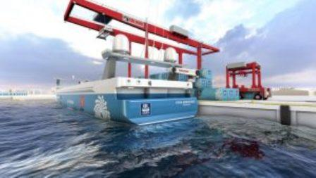 麦基嘉为全球首艘零排放无人集装箱船定制自动系泊解决方案