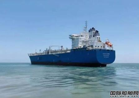 招商局重工(江苏)建造首艘LNG船完成气试