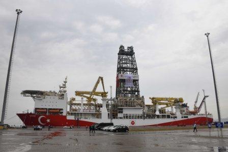 土耳其向地中海东部派出第二艘油气钻探船