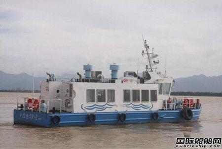航通船业交付2艘46客位交通艇