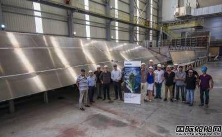达门Antalya船厂首艘新FCS 7011快速人员运输船开建