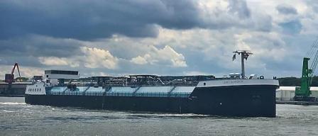 壳牌旗下欧洲首艘内河LNG燃料加注船投入运营