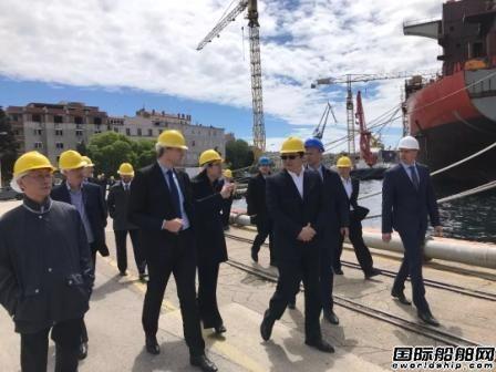 克罗地亚:中船重工无意收购Uljanik集团船厂
