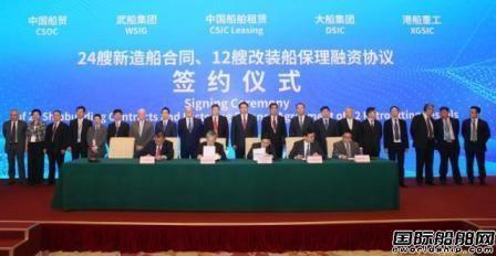 中船重工喜获143亿元民船项目大单