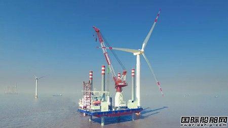 中天海洋工程签订5.26亿首个海上风电总包合同