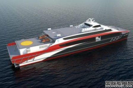 Incat Crowther获韩国客渡船设计合同