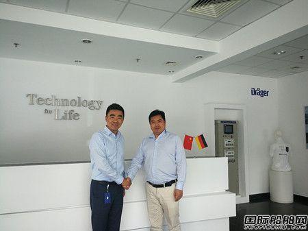 德尔格公司和上海领海挪华合作开拓中国市场