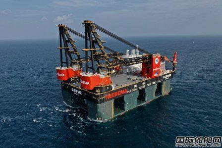 胜科海事交付全球最大半潜式起重船