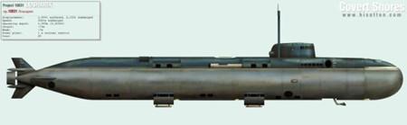 俄绝密核动力潜水艇事故14人遇难