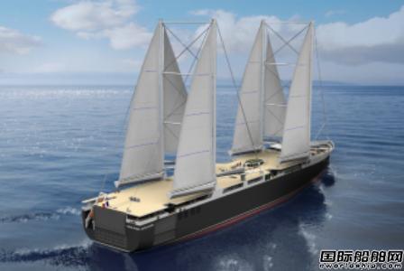 法国船企联手打造全球首批风帆动力滚装船