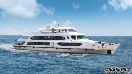 江龙船艇建造两艘精品旅游休闲船首航
