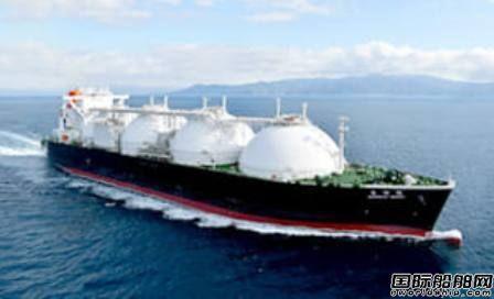 川崎重工命名商船三井1艘17.7立方米LNG船