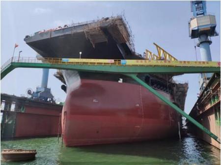 大连中远海运重工FPSO改装MV30项目完成多个关键节点
