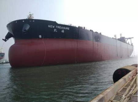 大船集团两艘VLCC完美实现两大节点