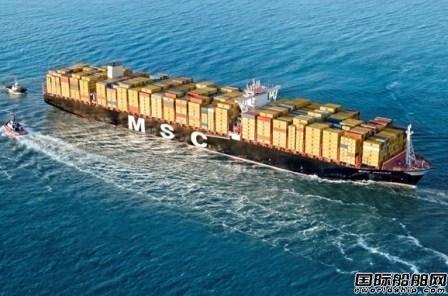 麦基嘉为地中海航运6艘大船升级货物系统