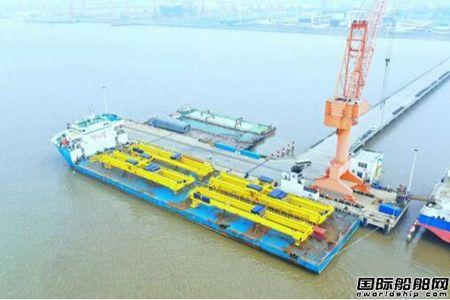 南通中远重工俄罗斯2号项目11台设备顺利发运
