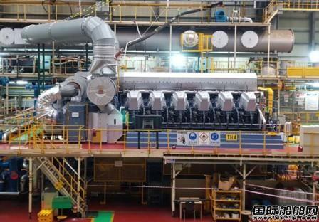现代重工推出更大功率HIMSEN双燃料发动机