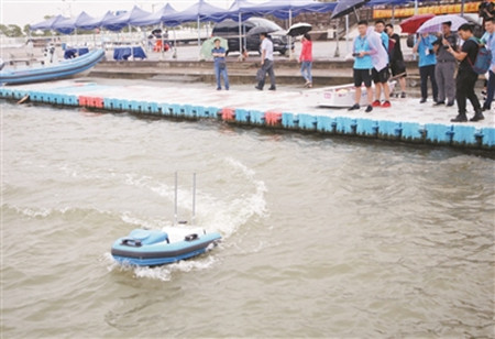 浦东新区滴水湖将成国家级智能无人船艇测试基地