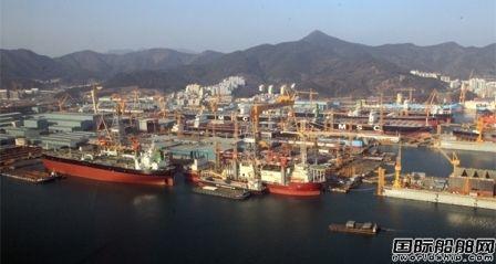 新船订单锐减!韩国船企连续两月位居第一