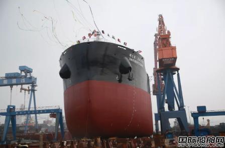 中船澄西完成一船下水一船搭载两大节点