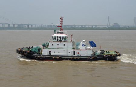 镇江船厂顺利交付2艘全回转拖船