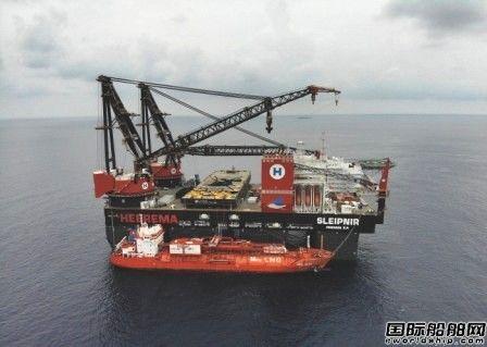"""3000吨!""""Sleipnir""""号完成史上最大LNG燃料加注"""