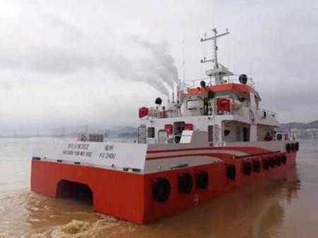 东南造船交付一艘海上风电运维服务船