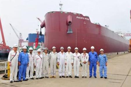 扬子江船业一周完成9大节点