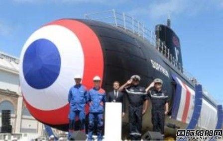 """法国海军集团首艘新一代核潜艇""""Suffren""""号下水"""