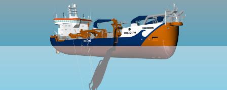 Van Oord在吉宝远东增订1艘耙吸式挖泥船