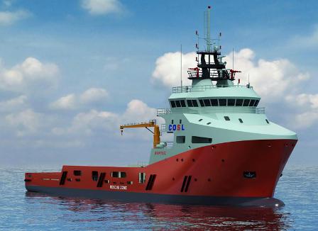 国鸿液化气获中海油服12艘LNG动力船供气系统合同