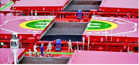 外高桥造船:智能制造�新路 高质量发展出实招