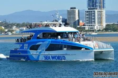 Incat Crowther设计双体观鲸船交付运营