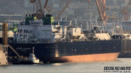 大宇造船Yamal LNG项目最后2艘破冰型LNG船海试