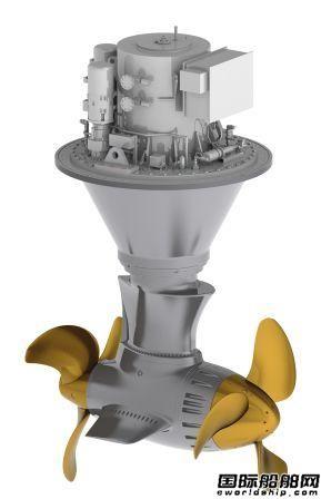 肖特尔获2艘混合动力滚装船推进设备订单