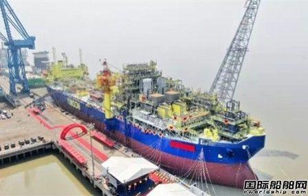 启东中远海运海工改装首艘FPSO命名交付